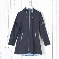 ILSE JACOBSEN Classic Rain Coat with Contract