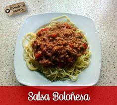 En esta receta te explico cómo hacer la Salsa Boloñesa o Salsa Bolognesa, una receta italiana que también llaman Ragú de Carne alla Bolognese. La receta paso a