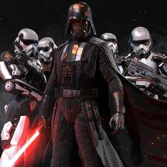 ArtStation - Darth Vader, mars ...