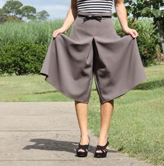 Midi Tania Culottes by CarlyinStitches | Project | Sewing / Pants & Shorts | Kollabora