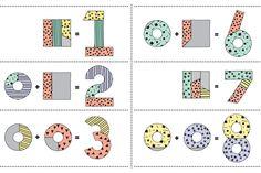 number cake printable template kids