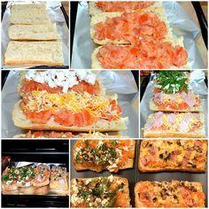 Receta de paninis caseros. Mira la receta en nuestra web. #RecetasGalaicus #paninis #comida-italiana #receta