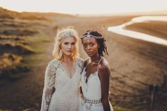 We are loving this shoot!! Featuring the Blossom Gown and the Juliette Gown. Up now on Trulyandmadly.com photography: www.patinaphotography.co.nz xx