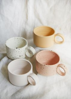 "The word ""ceramics"" comes form the Greek word ""keramikos"", which means pottery. The line of the Greek word means potter's clay and ceramic art directly … Ceramic Pitcher, Stoneware Mugs, Ceramic Cups, Ceramic Art, Earthenware, Stoneware Dinnerware, Ceramic Tableware, Ceramic Decor, Vintage Ceramic"