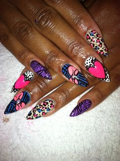 Not the shape or length, but I like the colorful design.