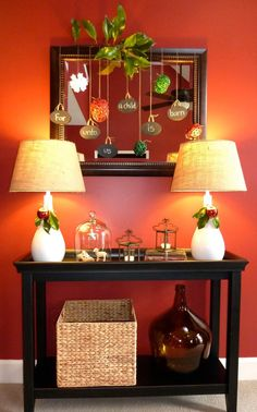 Console Table Decorating Ideas : entryway decorating ideas: foyer decorating ideas: home decorating ideas