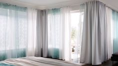 White and light curtains
