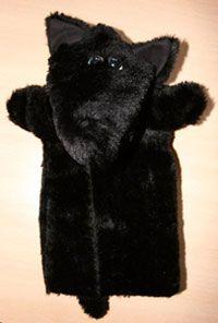 Marionnette Loup en tissu, Fabriquer un jouet - Loisirs créatifs