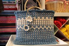 """New Cheap Bags. The location where building and construction meets style, beaded crochet is the act of using beads to decorate crocheted products. """"Crochet"""" is derived fro Crochet Tote, Crochet Handbags, Crochet Purses, Bead Crochet, Homemade Bags, My Style Bags, Jute Bags, Tapestry Crochet, Fabric Bags"""