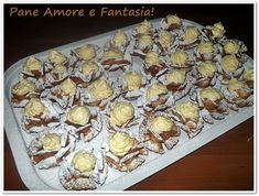 Great Desserts, Mini Desserts, Shibori, Cookie Recipes, Buffet, Stuffed Mushrooms, Food And Drink, Cheese, Cookies