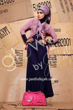 Eid hijab fashion by Glow | Just For Hijab