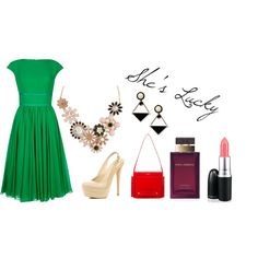 """""""Lucky Lucy"""" by dasbad on Polyvore"""