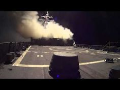 Raw Footage of First U.S. Strikes Against ISIS in Syria