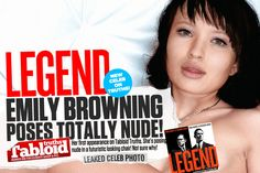 Leaked New Celeb! Australian Born Actress Emily Browning Poses Totally Nude!