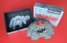 These little monsters are... ummm.. matchbox sized...           Originally created forThe Matchbox Art Show in Brighton curated by Clutter ...