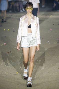 Ellen Rose au défilé 3.1 Phillip Lim printemps-été 2017 à la Fashion Week de New…