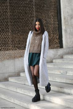 Inee at #Parisfashionweek #streetstyle #fashion #fashionweek #pfw #Paris. Picture by @MariePaolaBH