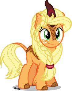 Kirin Applejack by on DeviantArt Mlp My Little Pony, My Little Pony Friendship, Invitaciones My Little Pony, Imagenes My Little Pony, Little Poni, Mlp Comics, My Little Pony Pictures, Mlp Pony, Fluttershy