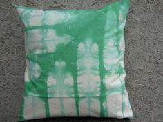 Hand Tie dyed Shibori Pillow Cover Throw pillow by AddisonMade, $45.00