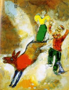 Marc Chagall & Jean de La Fontaine ~ Favole a Colori | Tutt'Art@ more info on #Marc #Chagall http://www.johanpersyn.com/category/humanity/art/marc-chagall/