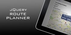 jQuery Route Planner