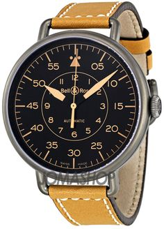 Bell and Ross WW1 Heritage Black Dial Automatic Mens Watch. List price: $3700