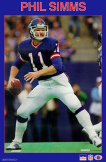 Phil Simms Action - Starline 1987