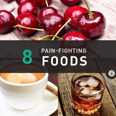 8 Foods that Fight Pain #food #pain #relief
