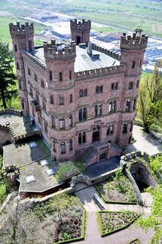 Ortenberg Castle now a Youth Hostel, Baden-Württemberg, Germany