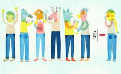 Print and Prints by Judy Kaufmann: Levis + Wetransfer