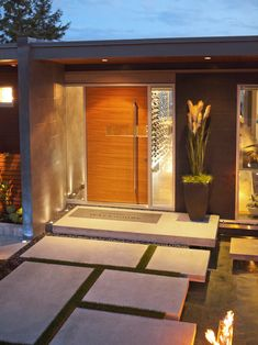 WOW. Amazing front entry. Modern Design