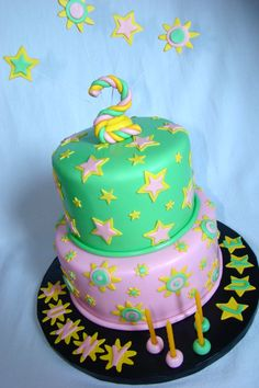 Old Twins Bday Cake SheBakes Itty Bitty Bakery NYC