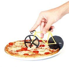 自転車のピザカッター【Fixie Pizza Cutter】