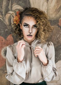 The Doe. Ciara Richardson Photography, Deer Doe Make Up, Hair and Make Up By Steph