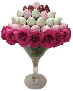 Rainbowly Fruit Bouquet, centerpiece for weddings / events
