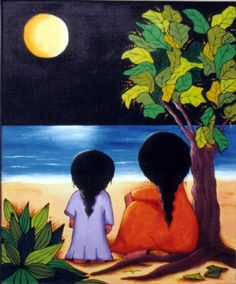 This paint is my favorite Arte Popular, Mexican Paintings, Peruvian Art, Mother Art, Caribbean Art, Mexico Art, Art Drawings For Kids, Africa Art, Mexican Folk Art