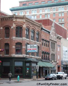 St. Elmo's Steakhouse - in the same downtown Indianapolis location since 1902.