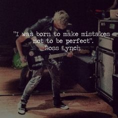 That's true! :) even though every girl thinks your perfect anyway!!