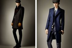 Overcoats.