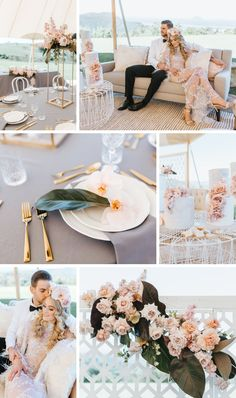 Pastel Pink, Gold + Grey Colour Palette - The Bride's Tree Wedding Hire, Wedding Vendors, Wedding Trends, Wedding Styles, Luxe Decor, Gray Color, Colour, Groom Style, Sunshine Coast