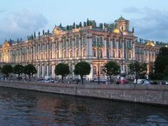 The Hermitage, St. Petersburg Russia  magnificent architecture and art museum  former Winter Palace of the tsars. A must see!