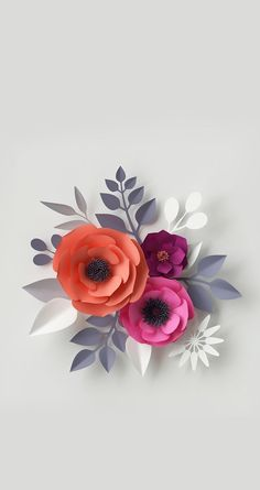 With some DIY magic you can still create a beautiful floral setup on a budget! Here's how to make paper flowers for your wedding! Paper Flowers Craft, Crepe Paper Flowers, Paper Flower Backdrop, Flower Crafts, Diy Flowers, Flower Art, Wallpaper Co, Cellphone Wallpaper, Flower Wallpaper