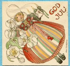 God Jul - Merry Christmas pinned by Heather
