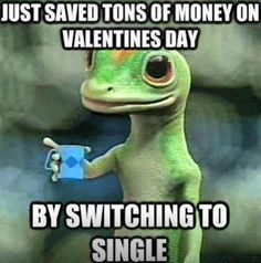 Call it Valentine's Day or Singles Awareness Day, February the is the time when people get all romantic. It's also a good chance to get a collection of funny Valentine's Day memes together! Here's our funny as hell Valentine memes. Valentine's Day Quotes, Funny Quotes, Funny Memes, Work Quotes, Teen Quotes, Change Quotes, Attitude Quotes, Motivational Quotes, Ex Box 360