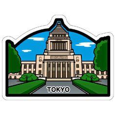 ご当地フォルムカード「東京」 POSTA COLLECT 郵便局のポスタルグッズ