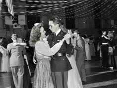 "Walter Spangenberg, captain in the WOODROW WILSON HIGH SCHOOL Cadet Corps at the school's ""Regimental Ball"" during World War II. --  October 1943"