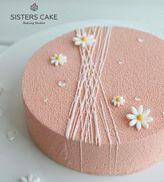 Cake Decorating Amazing, Cake Decorating Tips, Decoration Patisserie, Dessert Decoration, Cake Icing, Buttercream Cake, Pretty Cakes, Cute Cakes, Drip Cake Tutorial