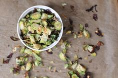 the best brussels sprouts {yes, I want cake}