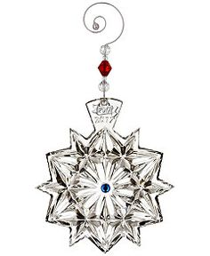Waterford 2017 Snowflake Wishes For Friendship Ornament