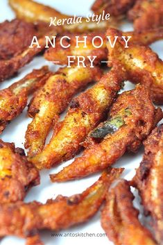 Anchovy fry also known as Nethili fry or Netholi fry or Podimeen fry is a quick and delicious South Indian side dish for rice varieties in 20 minutes. Fried Fish Recipes, Seafood Recipes, Indian Food Recipes, Asian Recipes, Chicken Recipes, Kerala Recipes, Calamari Recipes, Seafood Menu, Spicy Recipes